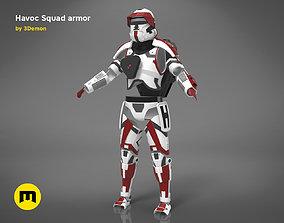 3D printable model Havoc Squad armor