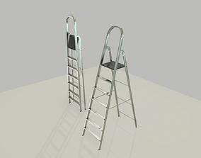 3D asset Step Ladder