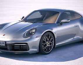 Porsche 911 Carrera 4S 2019 3D
