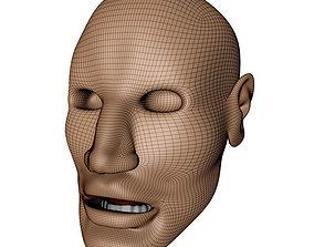 Marracash head 3D model