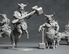 Bull Centaur - 3D printable character 3D print