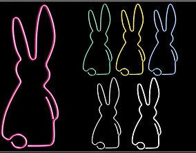 3D model Rabbit Wire