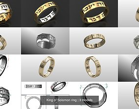 3D King of Solomon ring