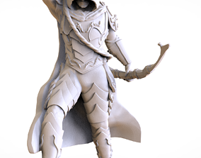 ARCHER CONCEPT ZBRUSH 3D MODEL