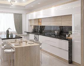 architect kitchen design 3D