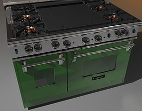 cooking stove 3D