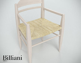 Billiani Vincent VG armchair rope 3D