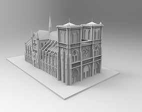 3D print model Notre Dame de Paris
