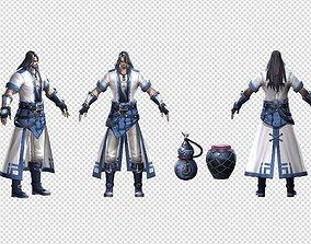 Knight Swordsman 3D asset