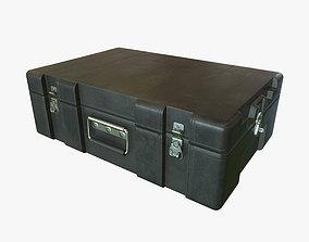 3D asset Military black case