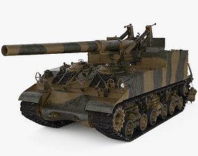 3D model M40 Gun Motor Carriage