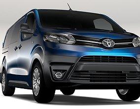 3D Toyota ProAce Van L3 2017