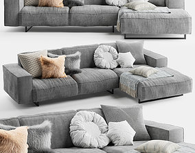 3D model Diane Corner Sofa