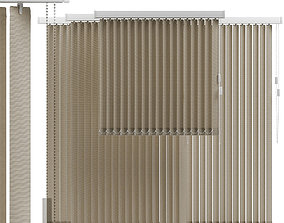 Vertical blinds 3D