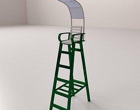 3D model Tennis Umpire Chair