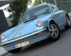 3D Porsche 911 1976