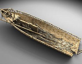 3D model Wooden shipwreck 2