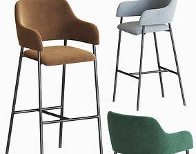 Deephouse Livorno bar chair 3D