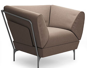 Addit easy chair Lammhults 3D
