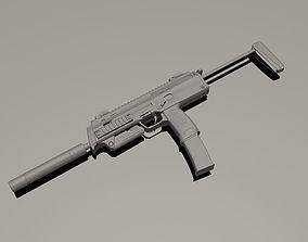 Heckler and Koch MP7 3D model