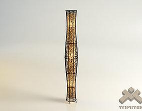 Exotic mesh lamp - Tower 3D model