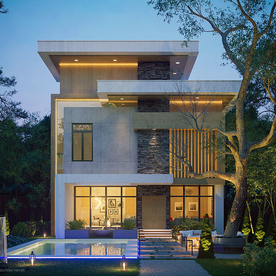 Modern Exterior Villa