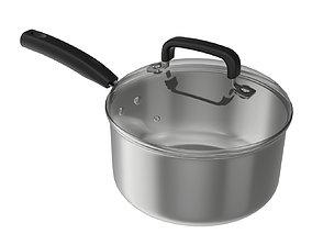 3D Kitchen pot 02 20cm
