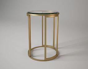 Baker 7858 martini table 3D