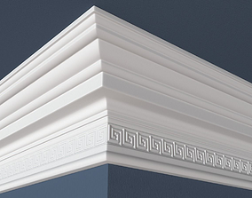 Decorative Crown Molding architectural 3D