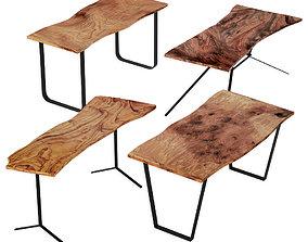 3D model Slab Tables Set 2