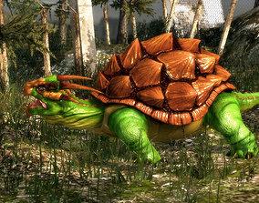 3Dfoin - Dragon Turtle animated