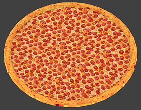 Low Poly Pizza 3D model