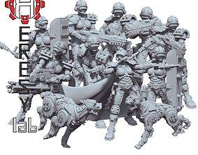 warhammer Heresylab - Sauberung Full Team 19 models