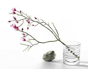 Magnolia Stone Composition 3D