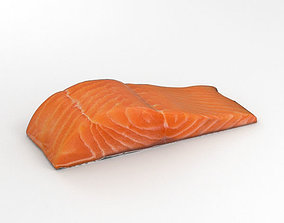 3D model Salmon Fillet