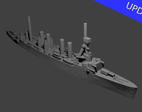 3D printable model US Omaha Class Cruiser Warship