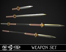 3D Melee Weapon Set A1