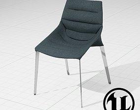 MolteniC Outline Chair UE4 3D asset