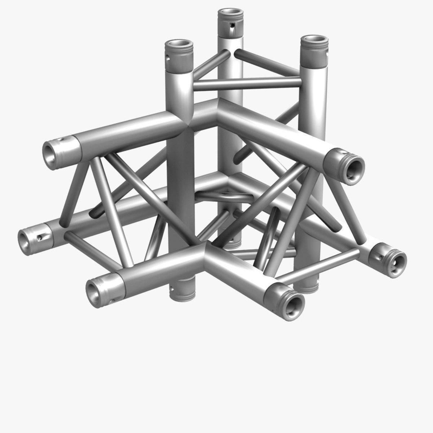 Trusses Square Triangular Beam Bundle 000