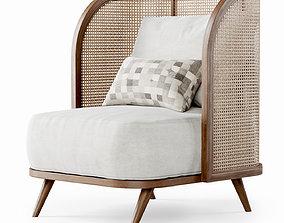 Garden lounge chair CV21 3D