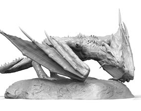 Dragon fantasy 3D print model