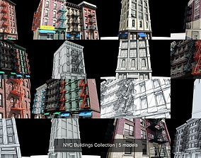 3D NYC Buildings Collection