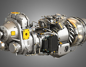 3D PW Canada - PW100 Turboprop Engine