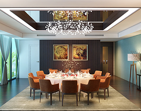 Restaurant VIP Room 3D