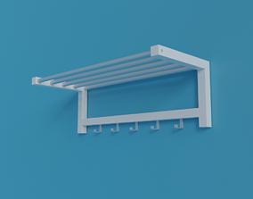 3D model Shelf for hats