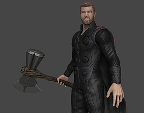 Thor - Stormbreaker - Infinity War - Model High Poly -