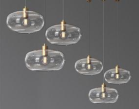 Frandsen Kobe Glass pendant 3D
