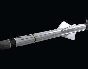 Exocet MM40 Block 2 3D model