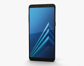 Samsung Galaxy A8 2018 Black cellular 3D
