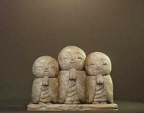 buddha Ksitigarbha 3D printable model